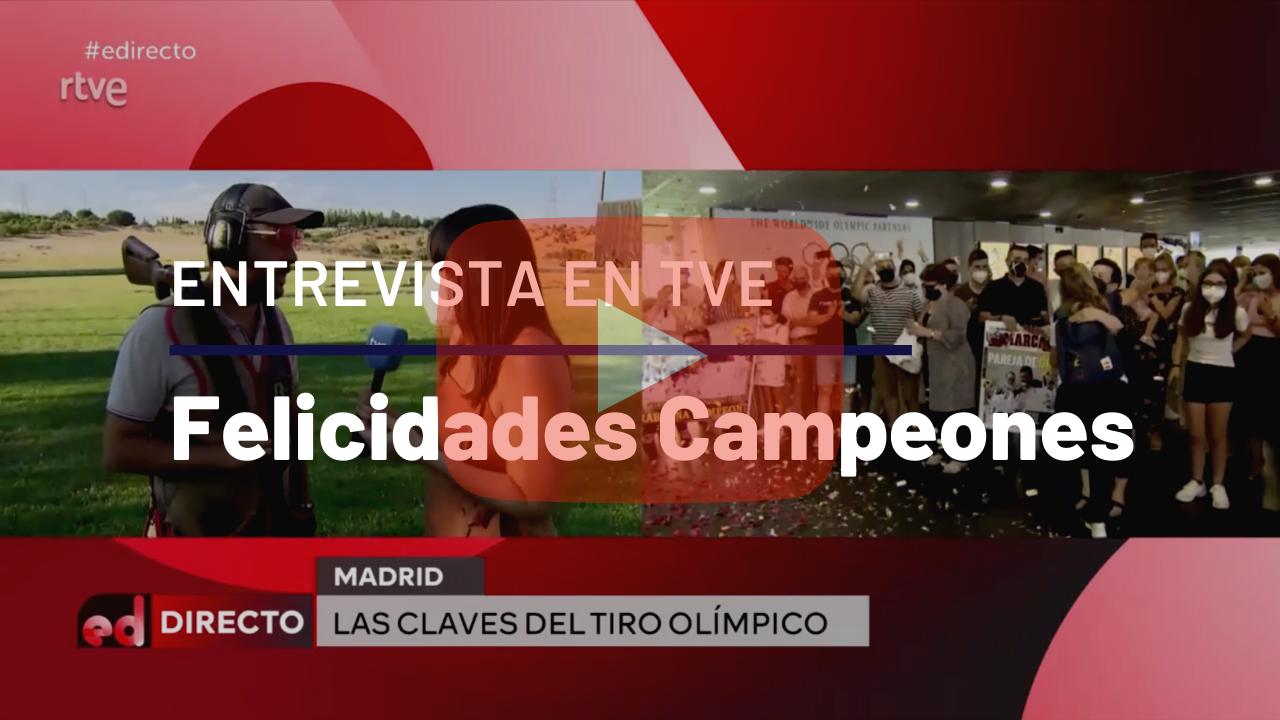 Gonzalo Gómez felicita a los campeones